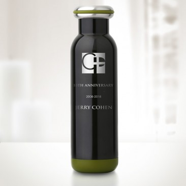 bq Classic Earth Charcoal Vacuum Bottle