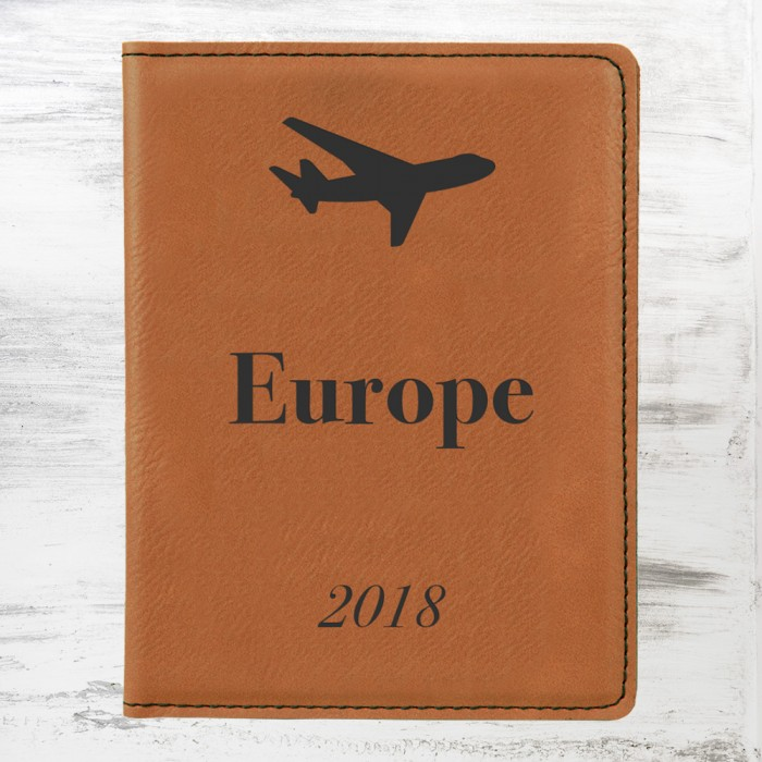 Rawhide Leatherette Passport Hol