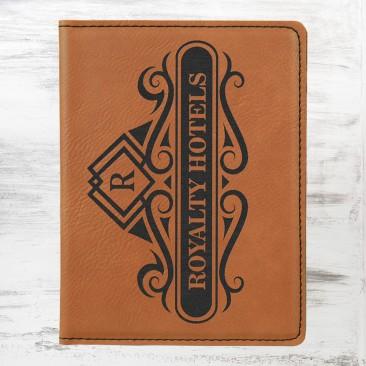 Rawhide Leatherette Passport Holder