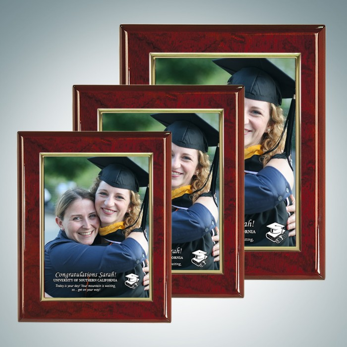 Rosewood Plaque w/Photo Plate