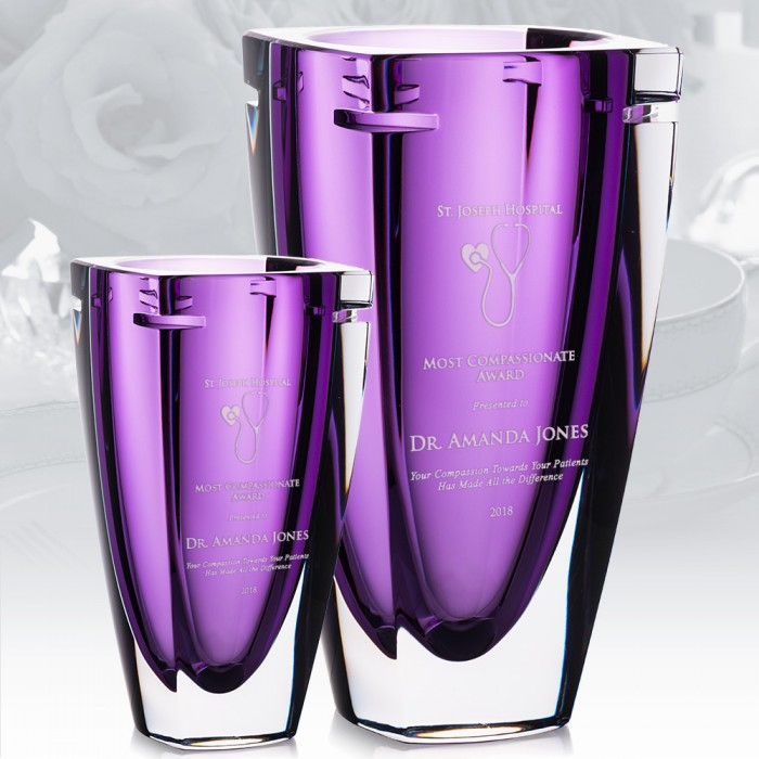 Waterford Heather Vase Group
