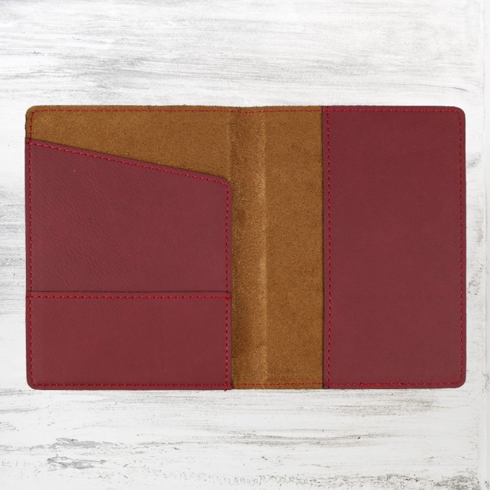 Rose Leatherette Passport Holder