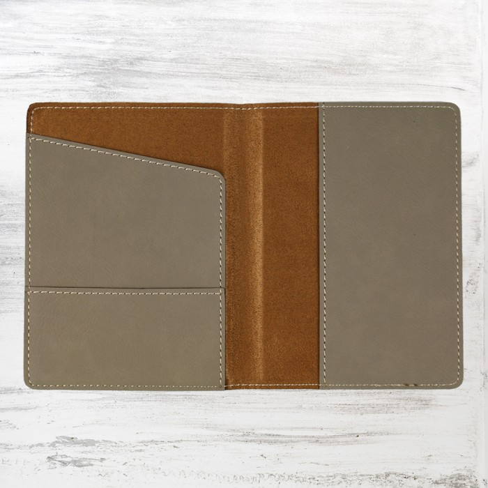 Light Brown Leatherette Passport
