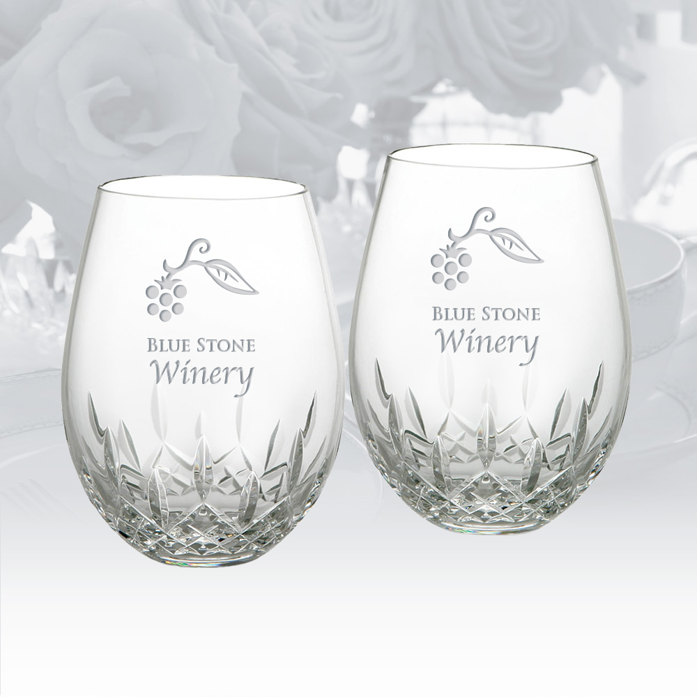 Personalize   Glass   Wine   Red