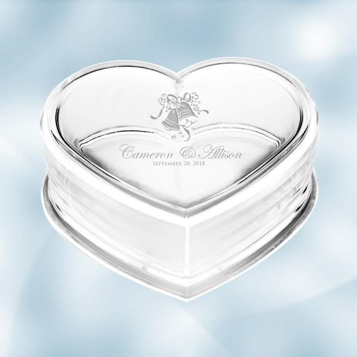 Acrylic Heart Box