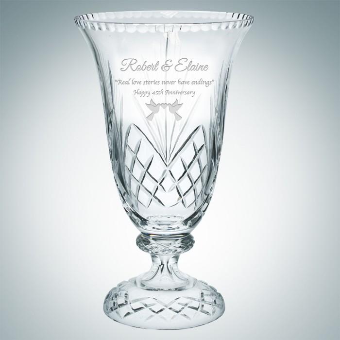 Grand Victoria Vase | Hand Cut