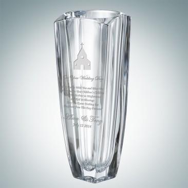 Crystalite Arezzo Vase