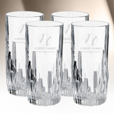 Nachtmann Shu Fa Longdrink Highball 12oz, 4pcs Set