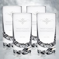 Orrefors Erik Highball, 4pcs Set