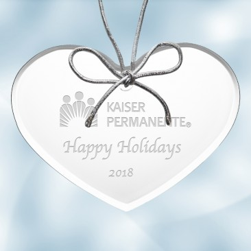 Acrylic Heart Ornament