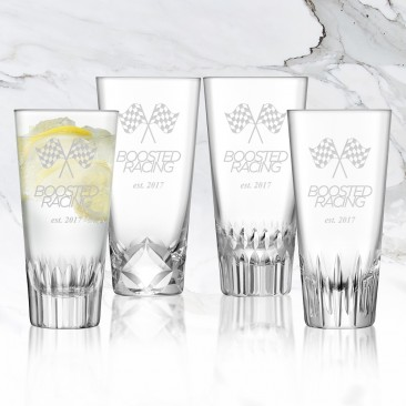 LSA TATRA Mixer Glass 10.75oz, 4pc Set