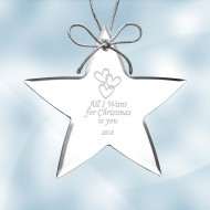 Acrylic Star Ornament