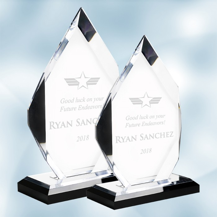 Acrylic Classic Diamond Award wi