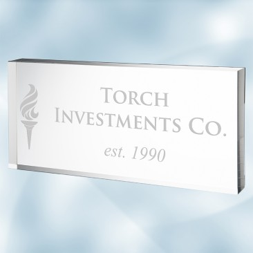 Acrylic Executive Nameplate