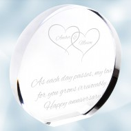 Acrylic Circle Plaque