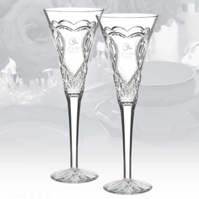 Waterford Wedding Toasting Flute