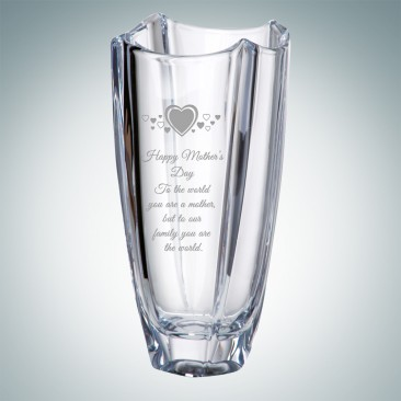 Crystalite Colosseum Vase