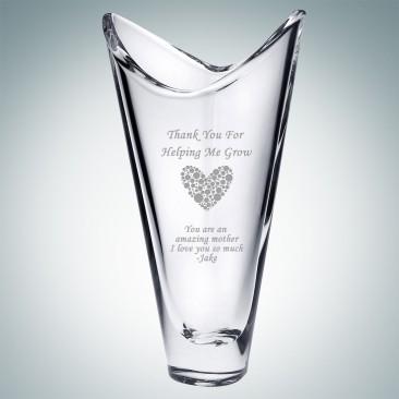 Crystalite Kyoto Vase