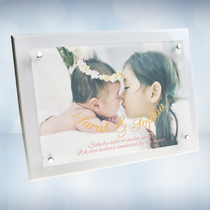 Color Imprinted Photo Floating A