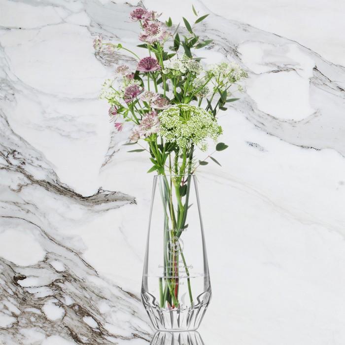 LSA FRIEZE Cut Base Vase