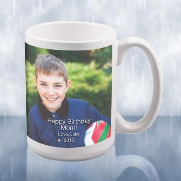 Sublimation Color Imprinted Ceramic Mug Photo Gift
