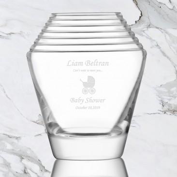 LSA FRIEZE Ringed Vase