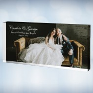 Color Imprinted Photo Acrylic Rectangle Block