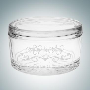 Circular Trinket Box