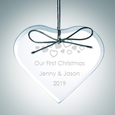 Premium Heart Ornament