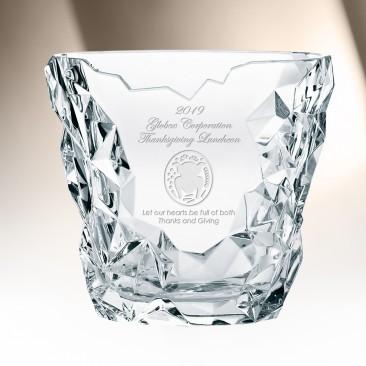 Nachtmann Sculpture Oval Vase