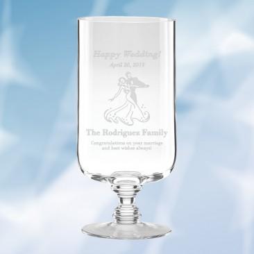 Lenox Weston Pedestal Hurricane Vase
