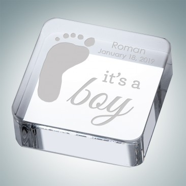 Pre-Designed Baby Boy Keepsake