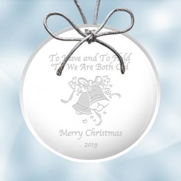 Acrylic Circle Ornament