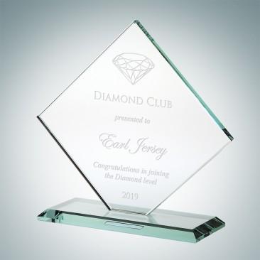 Jade Square Diamond with Base
