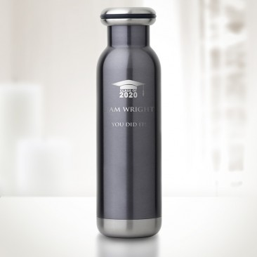 bq Classic Vibrant Blue Vacuum Bottle