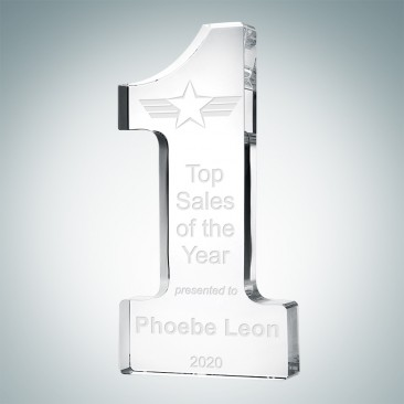 Crystal Number One Award