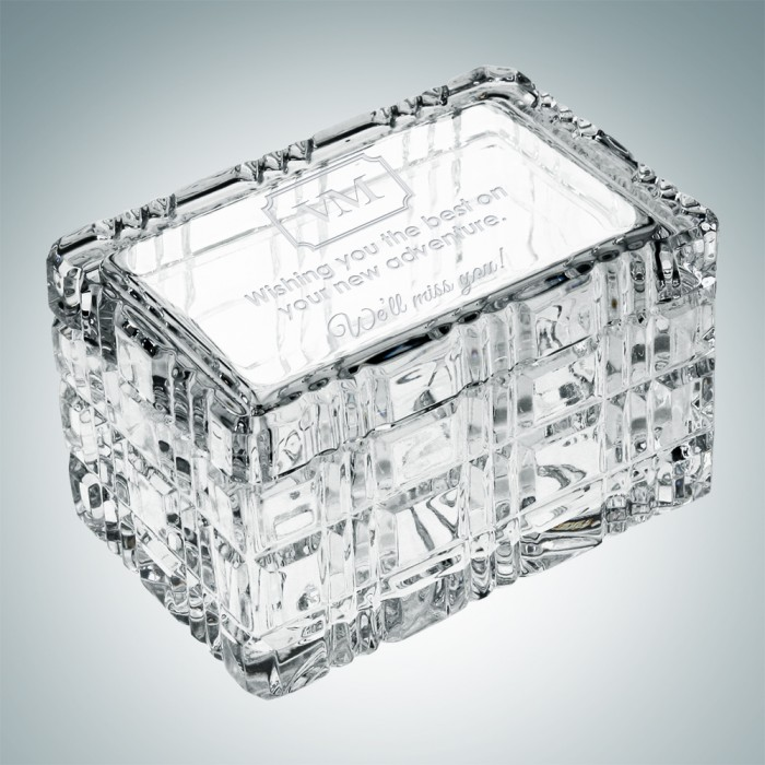 Majestic Crystal Box- top view