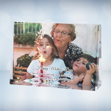Color Photo Imprinted Horizontal Rectangle Plaque
