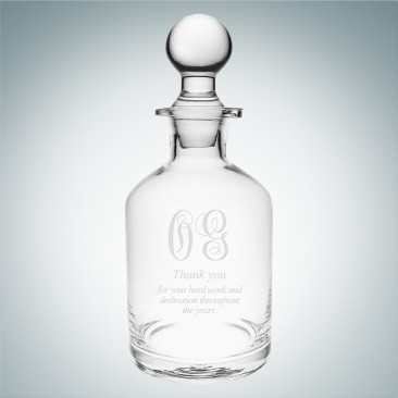 Monogrammed Potion Decanter