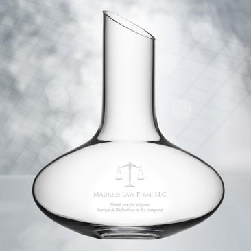 Orrefors Enjoy Decanter 34oz
