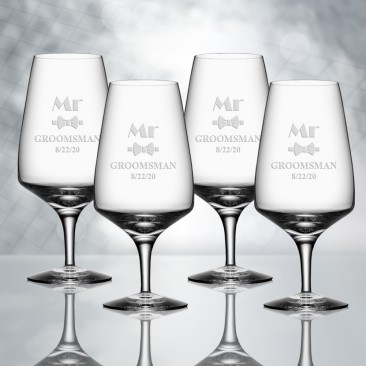 Orrefors Pulse Beer Glass 4pc Set