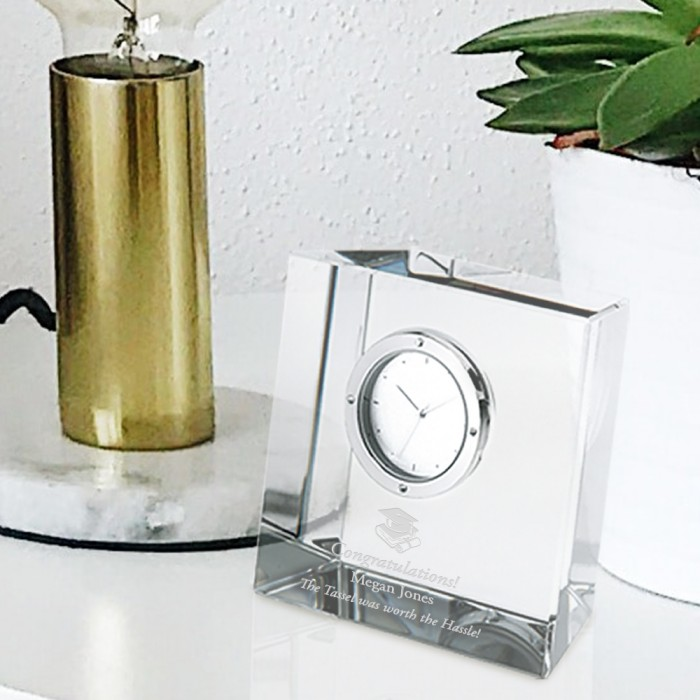 Slanted Block Clock lifestyle