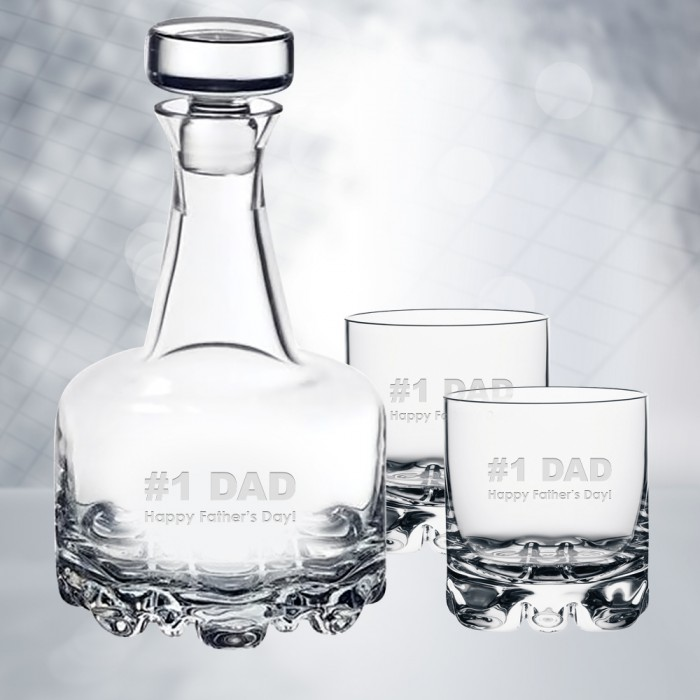 Orrefors Erik Decanter & DOF 3pc