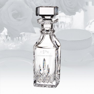 Waterford Lismore Connoisseur Square Decanter 15.5oz