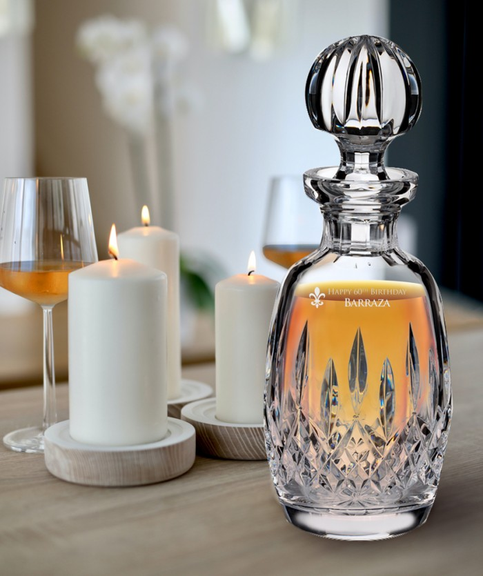 Connoisseur Rounded Decanter lif