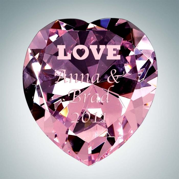 Pink Diamond Heart