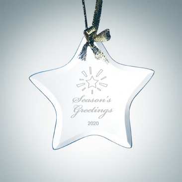 Jade Beveled Star Ornament