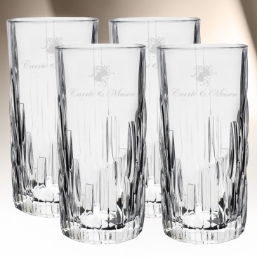 Nachtmann Shu Fa Longdrink Highball 4pc Set, 12oz