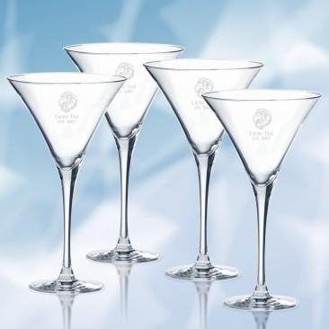 Lenox Tuscany Classics Martini Glass 4pc Set, 10oz