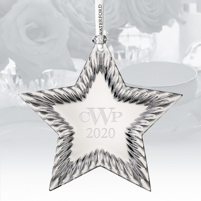 Waterford Star Ornament
